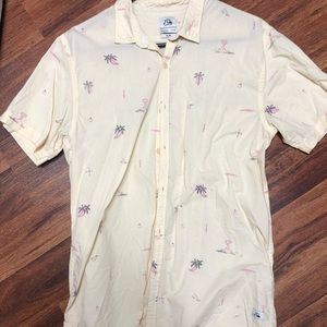 Quicksilver button up shirt